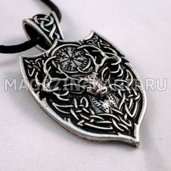 "The amulet ""Deer and Vegvisir"""
