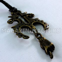 "Amulet ""the Cross of the month"""