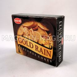 Incense cones 'Golden rain'