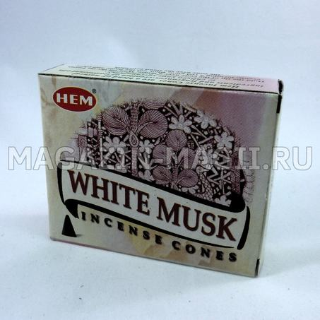 Incense cones White musk