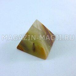 Пирамида из оникса (3*3*3 см)
