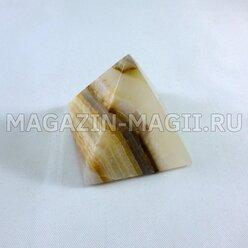 Пирамида из оникса (4*4*4 см)