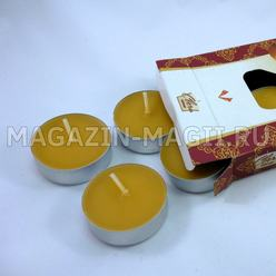 Tea candle 'Sandalwood' (6pcs.)