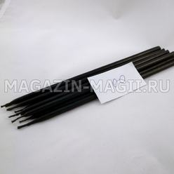 Candle wax black No. 100 (10 pieces, dipped)