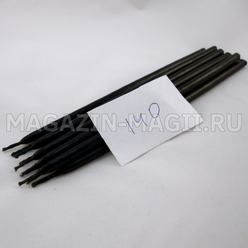 Candle wax black No. 140 (10 pieces, dipped)