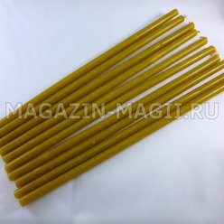 Church candles wax No. 60 (10pcs.)